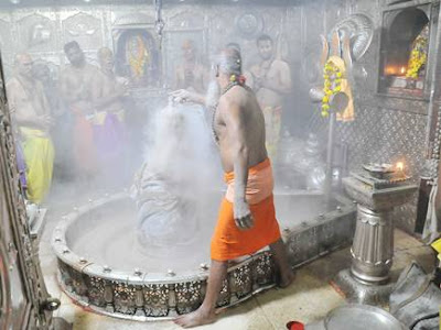 mahakal aarti photos