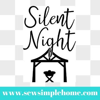 silent night svg free