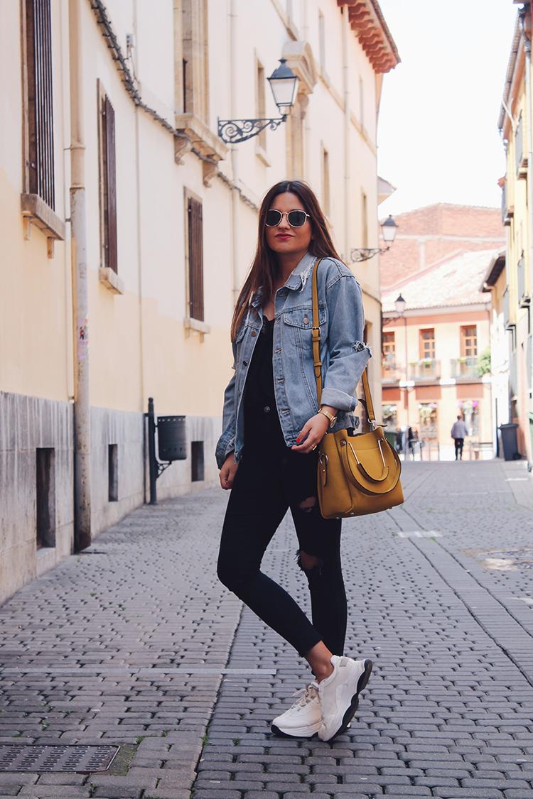Blog moda outfit entretiempo bolso paco martinez