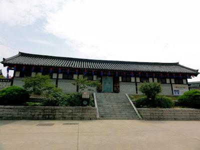 Pavilion at Namsangol Hanok Village Seoul