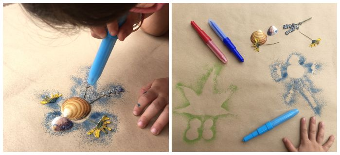 rotuladores infantiles Blopens para pintar soplando no tóxicos ni peligrosos