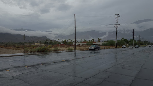 Remnants of Hurricane Paine in Palm Springs