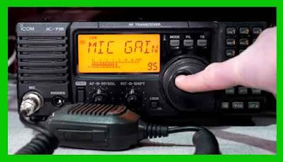 Kontrol Radio Icom Ic-718 beserta Fungsinya