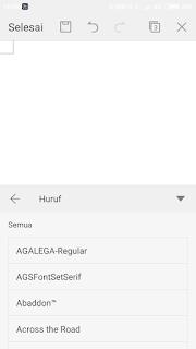 Cara Mudah Menambah Fonts Wps Office Android