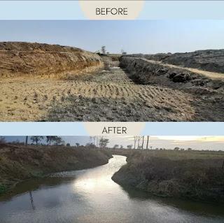 एनटीपीसी मौदा की नदी कायाकल्प परियोजना ने जल संकट से उबरने में 150 से अधिक गांवों की सहायता की