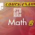 cours et examen Maths 2 - s2
