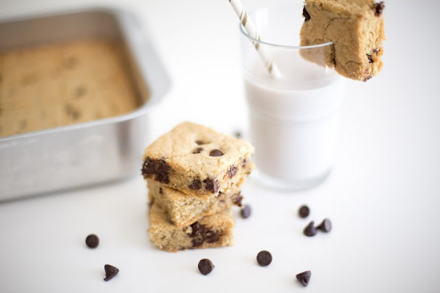 Chocolate Chip Cookie Bars 9X13 for Kids