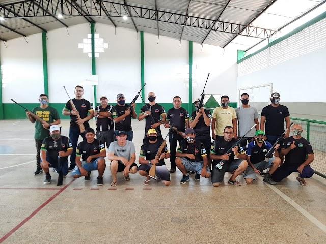 Associação Parnaibana de Canoagem e GAR realizaram o 1º Torneio de Tiro Esportivo, em Parnaíba
