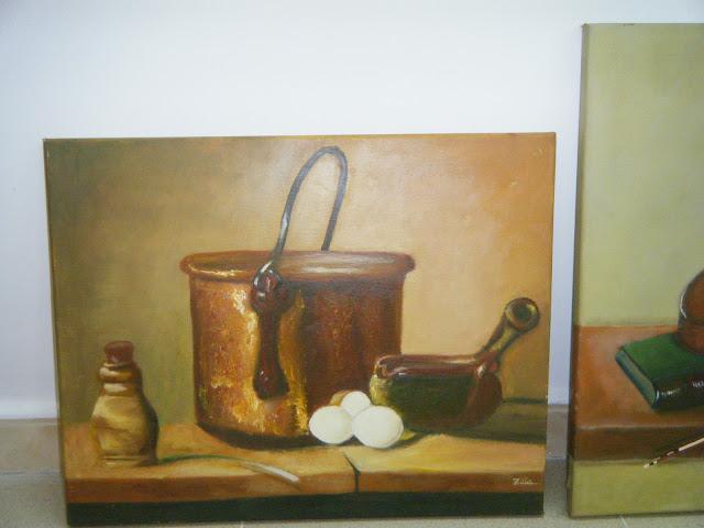 Les peintures de mes élèves à l'expo 29
