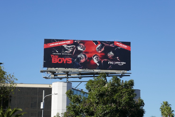 The Boys FYC billboard
