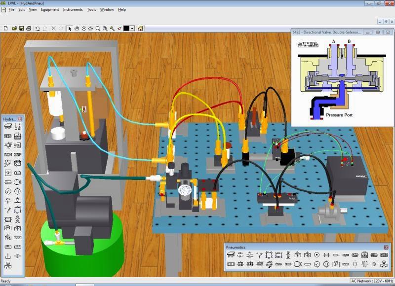 Simulador Neumatico 3d