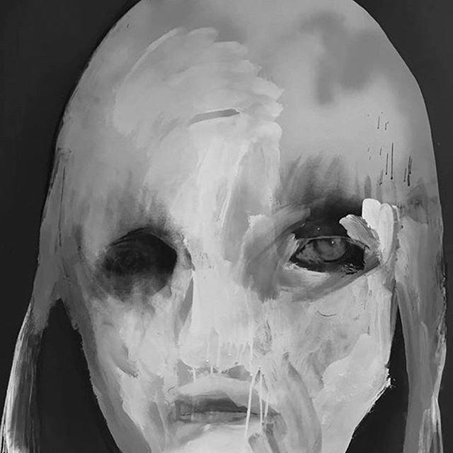 Kumpulan Gambar Lukisan Abstrak Hitam Putih Terbaru Paling Keren