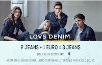 Logo Da OVS acquisti 2 Jeans e il 3° lo paghi solo 1 €