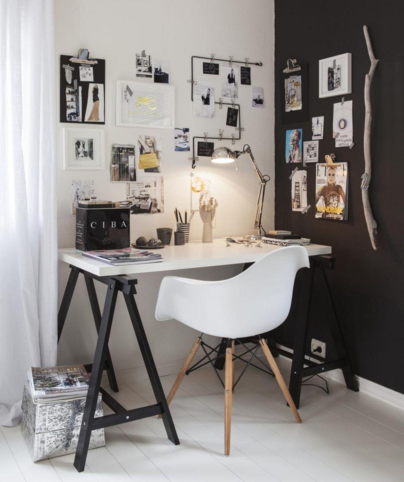 trendy workingspace decoration idea