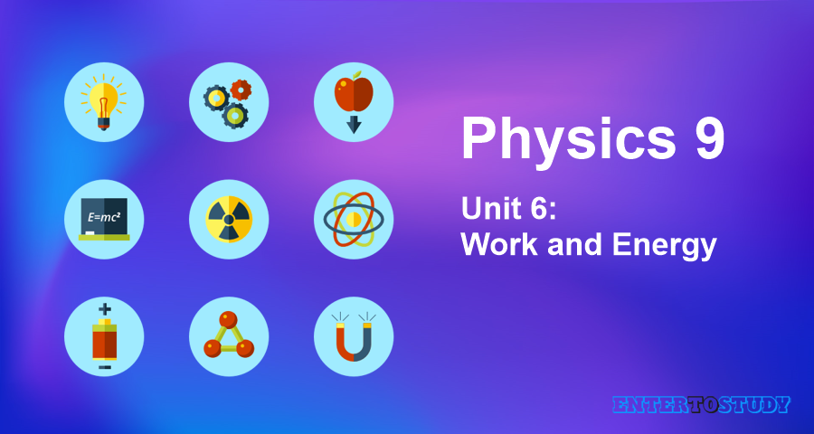 KIPS 9th Class Physics Notes Unit 6: Work and Energy