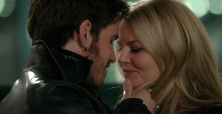 Hook and emma in once upon a time