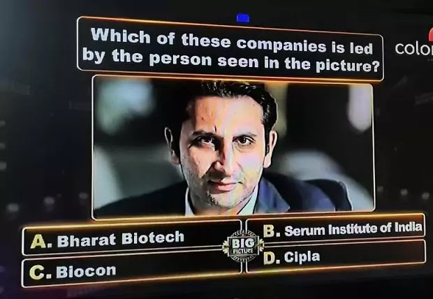Which of these companies is led by the person seen in the picture ?