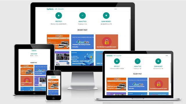 Free Safelink Blogger Template