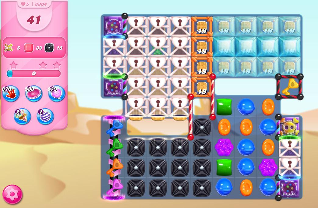 Candy Crush Saga level 8364