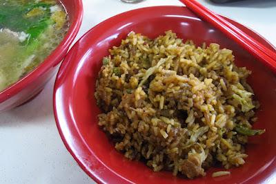 Old Village, long beans pork belly rice