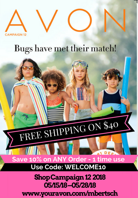 New Avon Catalog May 2018 - Campaign 12 2018 - Buy Avon online