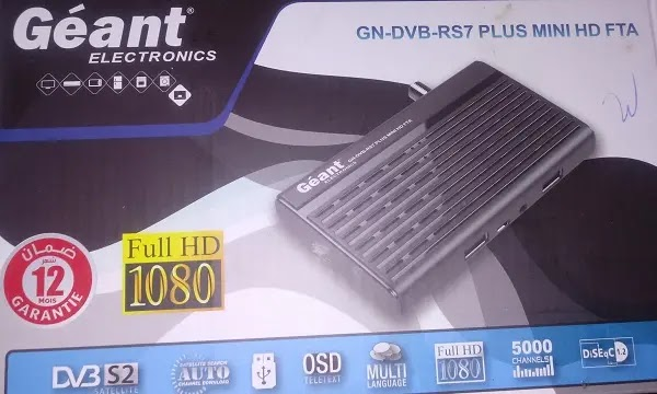 GN-DVB-RS7 PLUS MINI HD