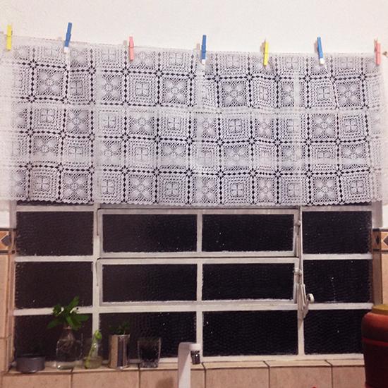 cortina para a cozinha, cortina de cozinha, cortina, kitchen curtain, faça você mesmo, diy, craft, artesanato, a casa eh sua, acasaehsua, decoração cozinha, home decor, decor, interior design
