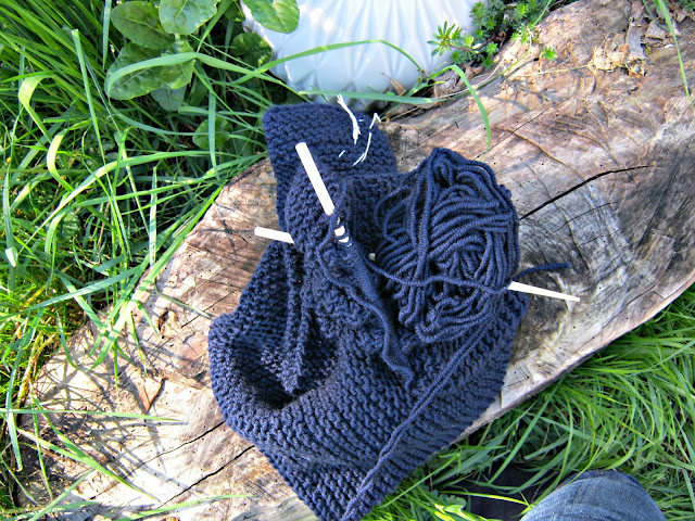 knitting, Stricken, Babydecke