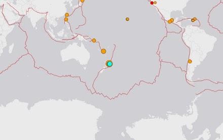Σεισμός 6,9 βαθμών στη Νέα Ζηλανδία, προειδοποίηση για τσουνάμι