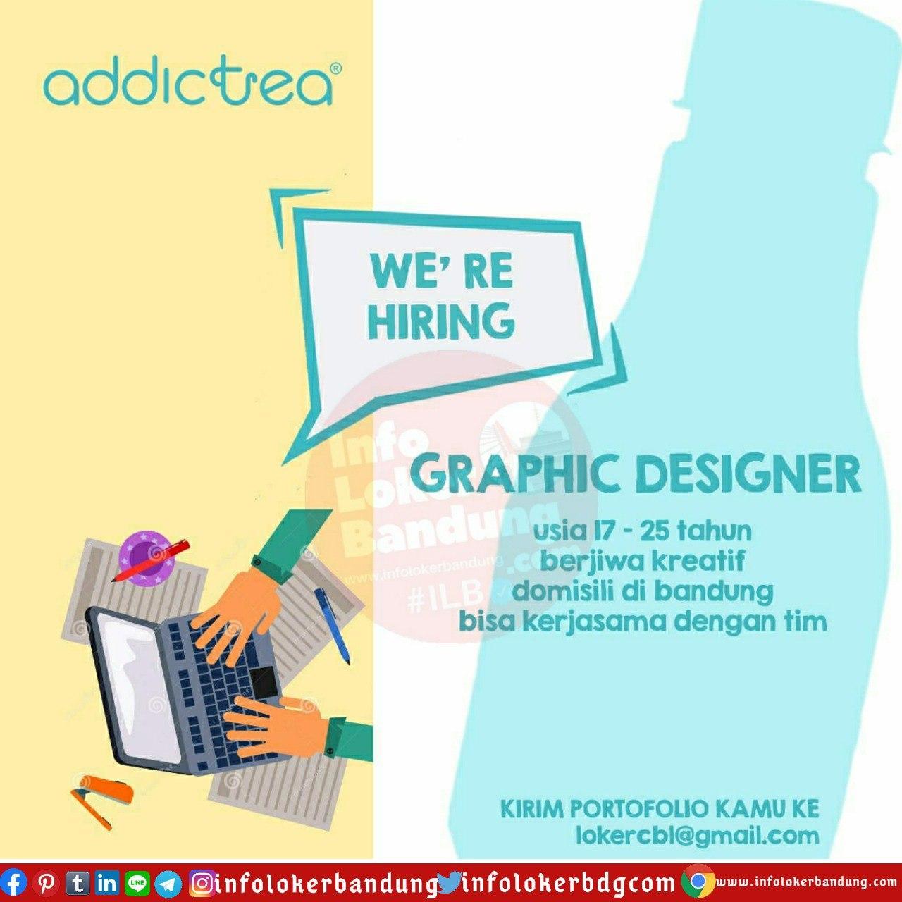 Lowongan Kerja Graphic Designer Addictea Bandung Juni 2020