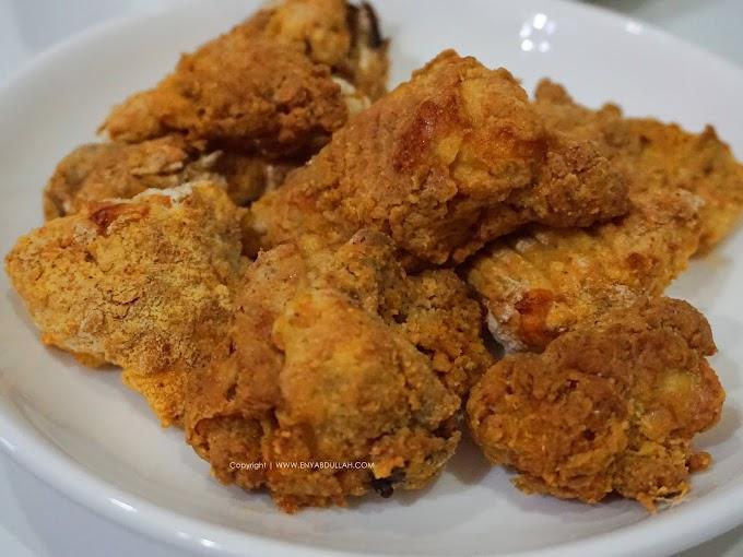 Ayam Goreng Tepung Rangup Guna Air Fryer