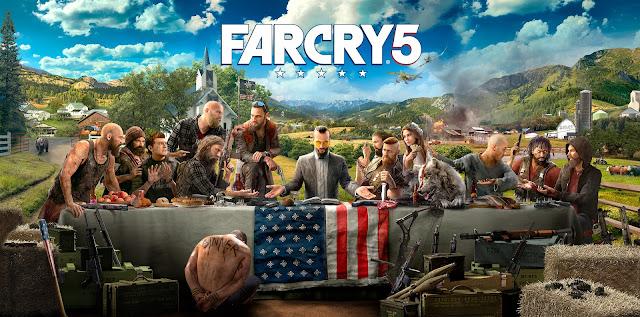 La Cène avec des trafficants, prêtres et autres personnages de la Saga Far Cry.
