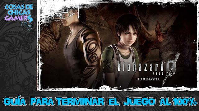 Guía para completar Resident Evil Zero HD