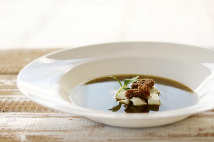 Zupa – krem z pieczonej cukinii i pora