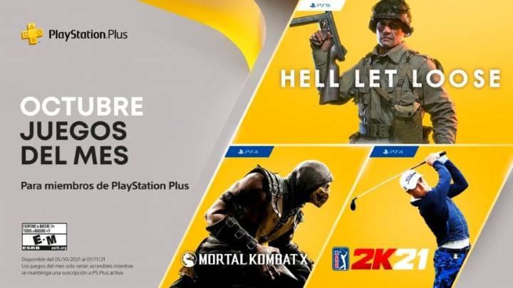estos son los juegos gratis de playstation plus en octubre 2021