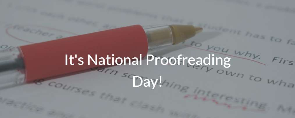 National Proofreading Day Wishes Lovely Pics