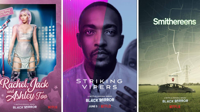black mirror saison 5 Striking Vipers Smithereens Rachel Jack and Ashley Too