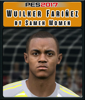 PES 2017 Faces Wuilker Farinez by Sameh Momen