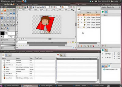 2D ANIMATION MAKING SOFTWARE — SYNFIG STUDIO