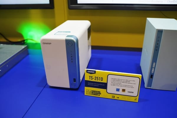 QNAP launches TS-251D for home users with hard disk and SSD units