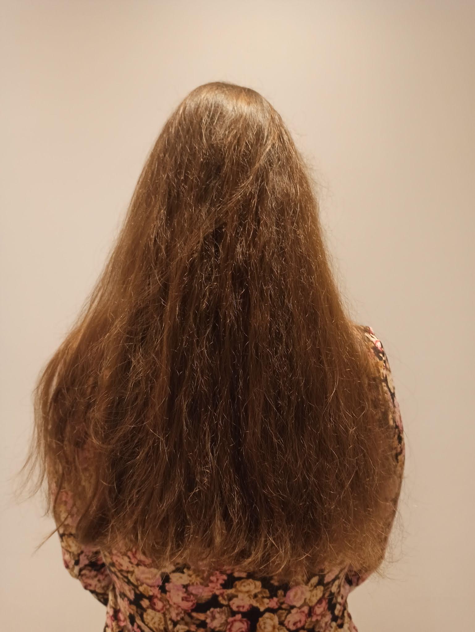 włosy suche, włosy zniszczone