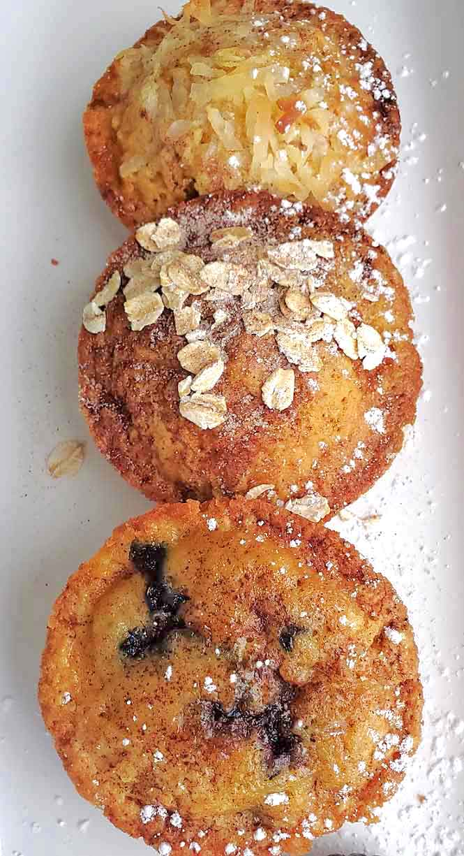 these are the best ever easy mango muffins made with a cake mix