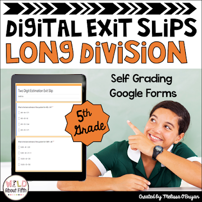 math exit tickets for google classroom