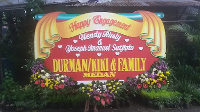 Karangan Bunga Happy Wedding Sidoarjo