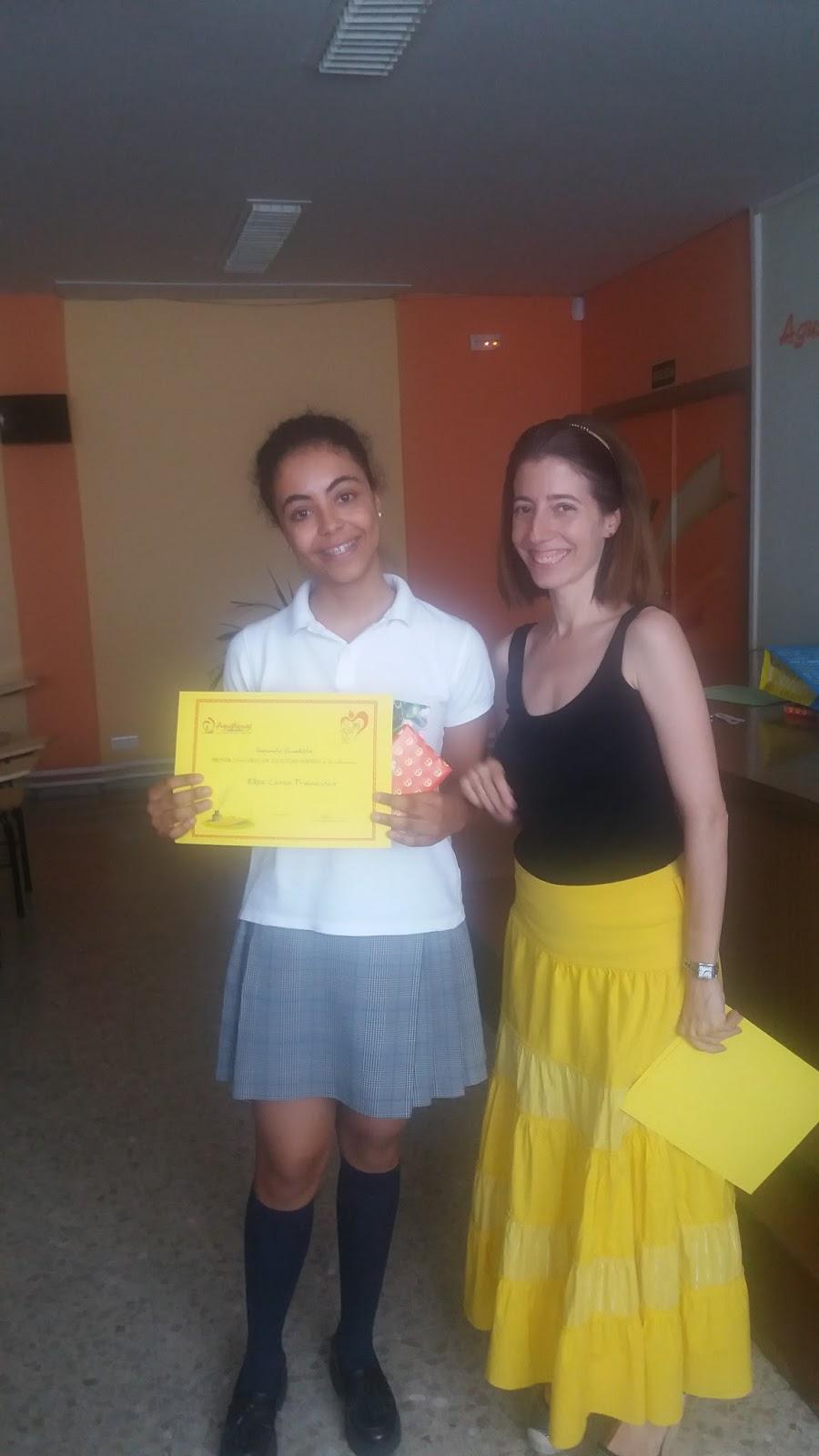 Agustinas Valladolid - 2017 - ESO- Concurso Escritura Rápida