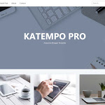 Katempo Pro, Portofolio Blogger Template