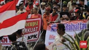 Massa Aksi Demo Mengaku Dibayar dan Tak Paham Masalah KPK!