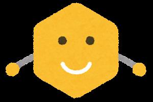 六角形のキャラクター1