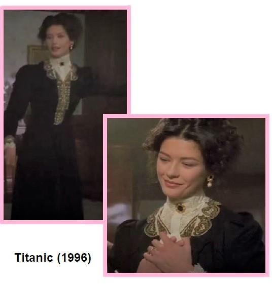 looks da isabela em titanic 1996
