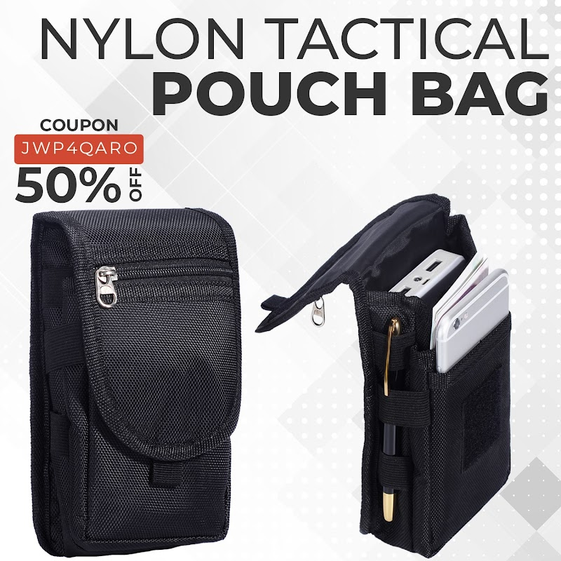 50% OFF Nylon Tactical Pouch Bag